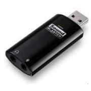 """Creative Sound Blaster Play! USB Sound Card, CMSS, Realistic gameplay, 90dB, Microphone in/out (1/8"""" mini jack)"""